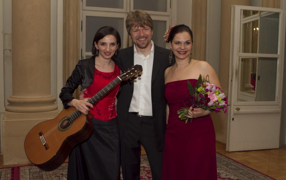 with Eva Hornyakova and Pavol Remenar